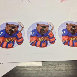 хоккей медведь